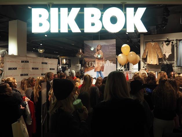 Bild från Bik Bok, Bik Bok AB