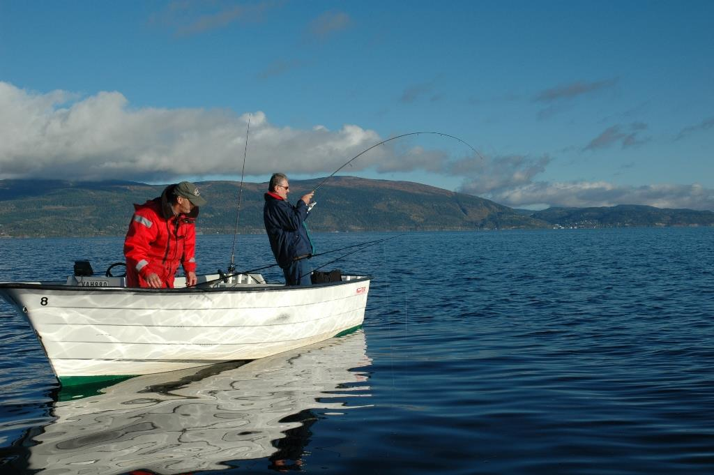 Fishing in Inderøy