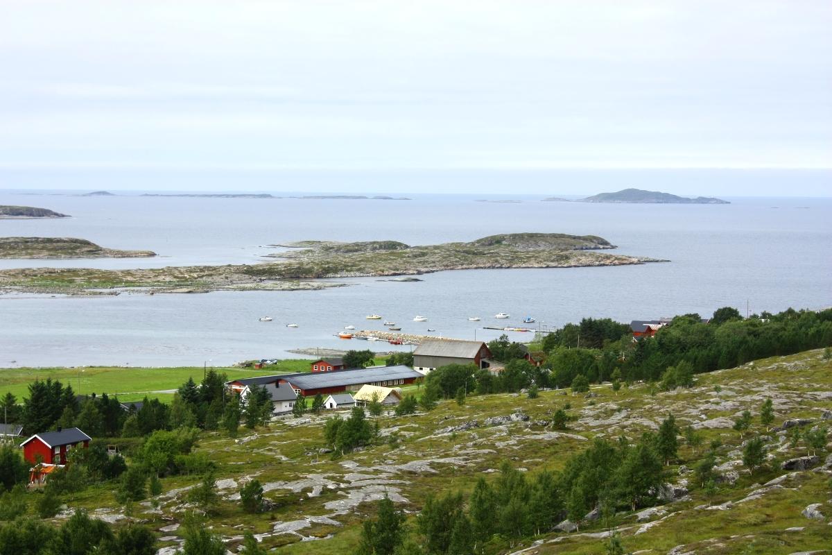 Utsikt fra Harbakhulen. Copyright: Petter Bueng