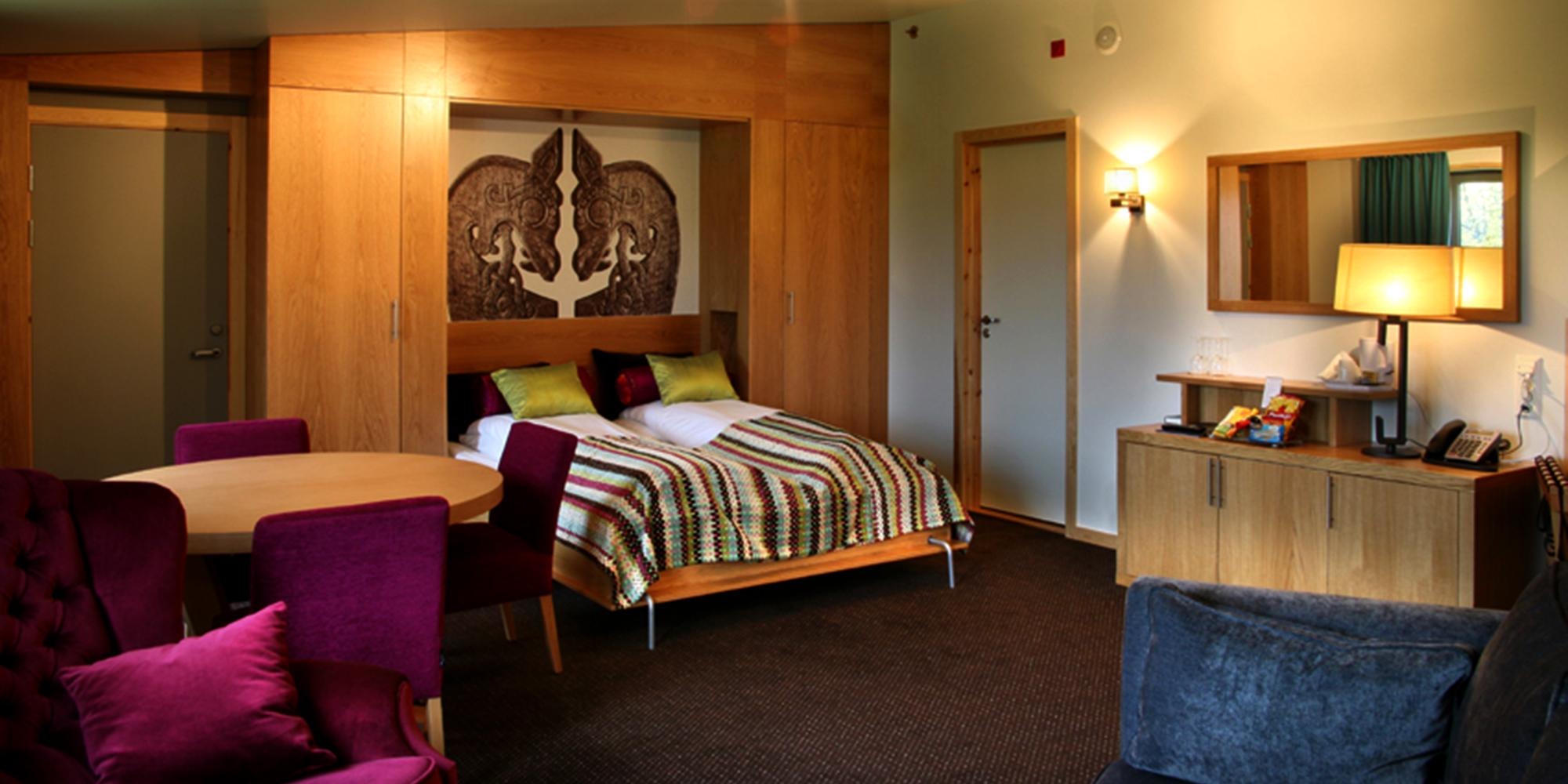Stiklestad Hotell - suite. Copyright: Stiklestad Hotell