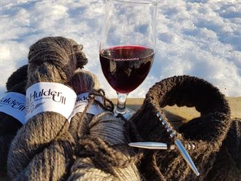 Strikk og drikk på Håvardsrud Seterliv