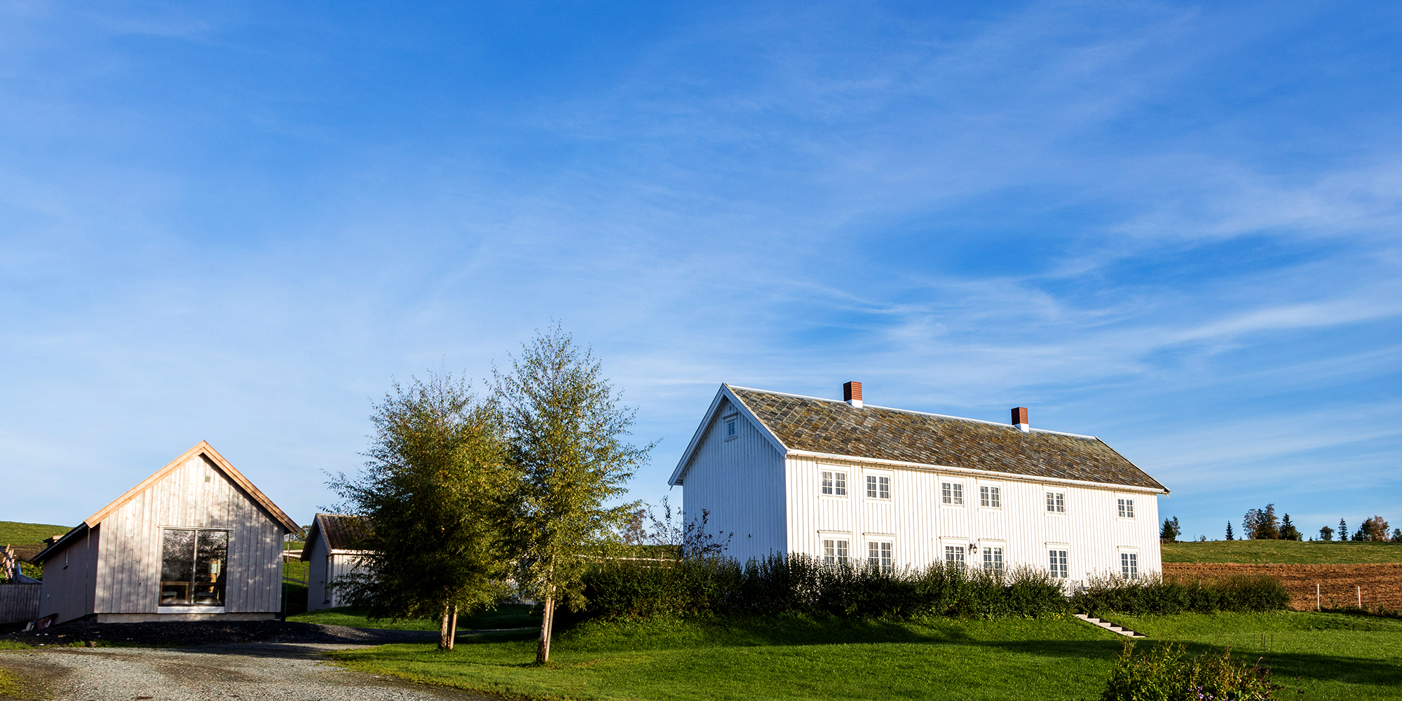 Husfrua Country Farm Hotel, along the Golden Route, Inderøy. Copyright: Husfrua Gårdshotell