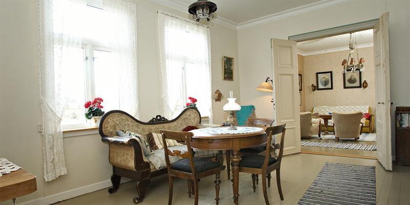 The living room at Strømnes. Copyright: Strømnes