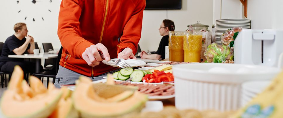 Frukost hotell sport and rest