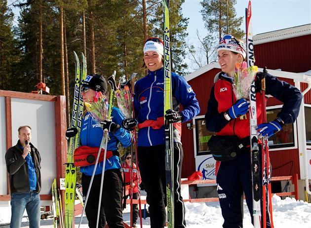 Prisutdelning Skid SM i Piteå