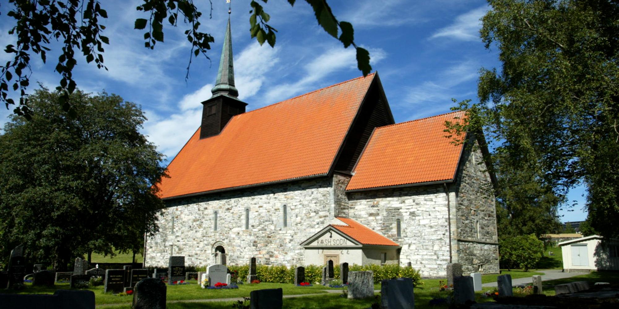 Stiklestad Kirke. Copyright: Stiklestad Nasjonale Kultursenter