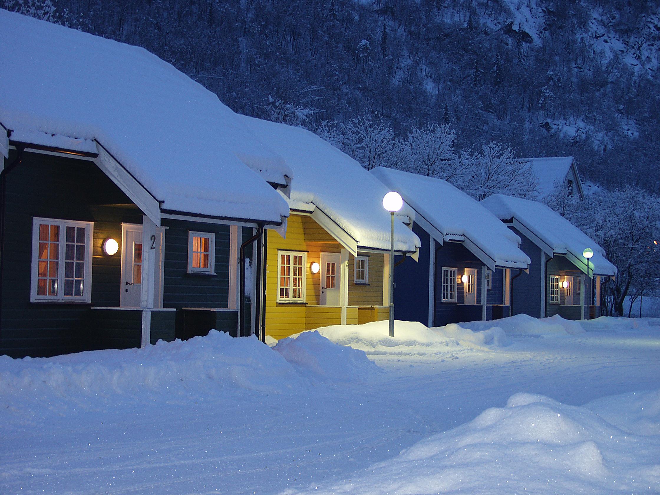 Velutstyrte hytter i gangavstand til Rjukan Sentrum og Rjukanbadet , © Knut Erik Jacobsen