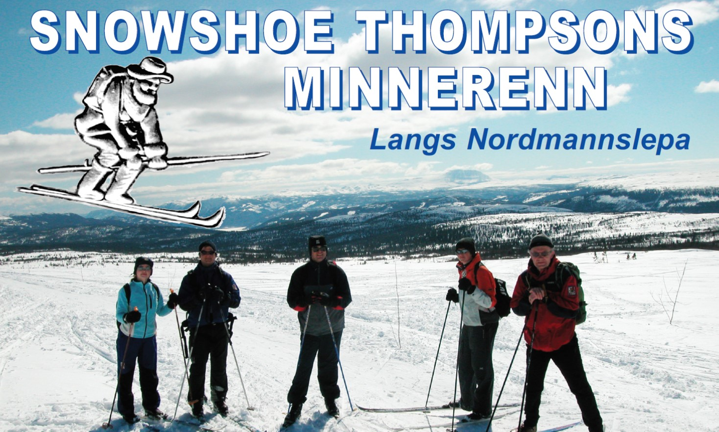 Snowshoe Thompson minerenn, © Austbygde utvikling