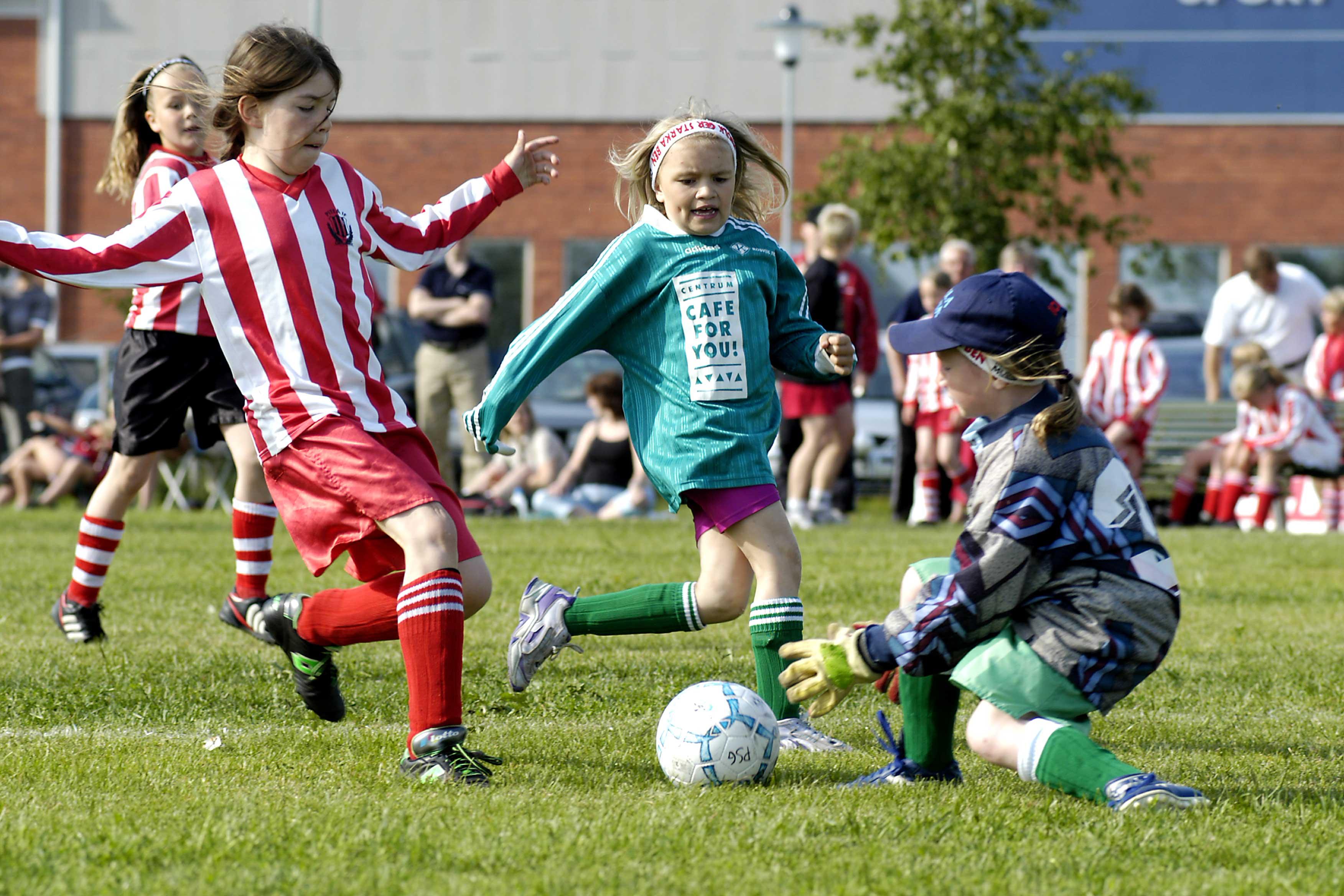 Match Summer Games tjejer