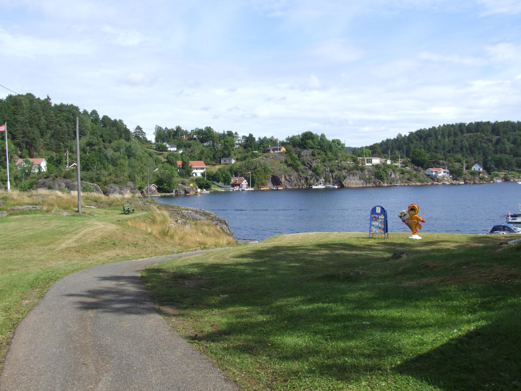 Dikkon, Sandøya