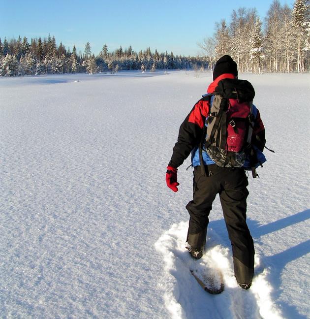 Snöskopromenad, Guide Natura