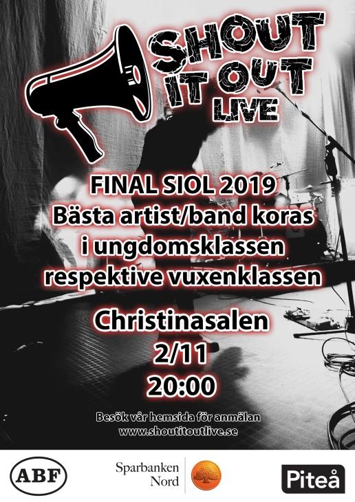 Finalen i Shout it out live