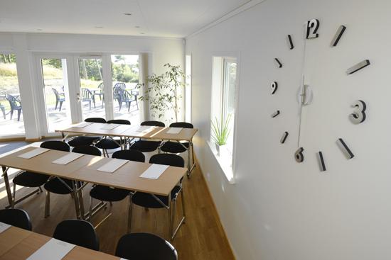 Konferenslokalerna på Ugglarp.nu, söder om Falkenberg, är byggda för att kunna anpassas, vara flexibla och passa både den lilla och den lite större gruppen.