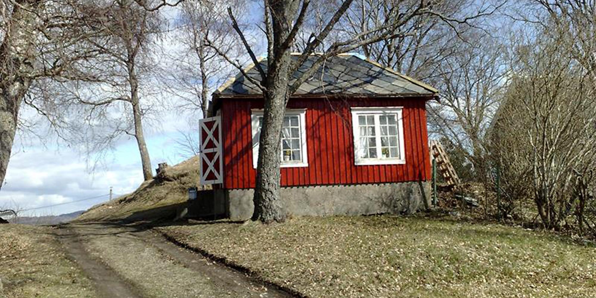 Snekkarstu på Strømnes. Copyright: Strømnes