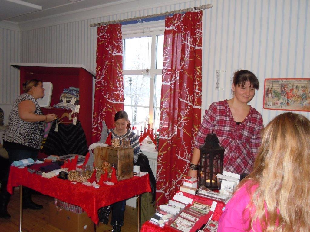 Julmarknad i Blåsmark