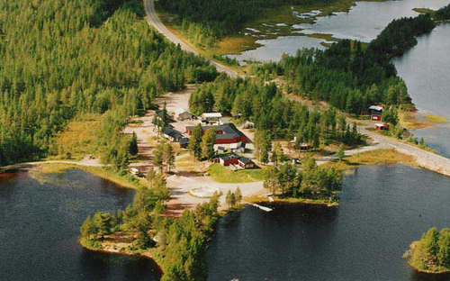 Flygfoto Norrskensgården