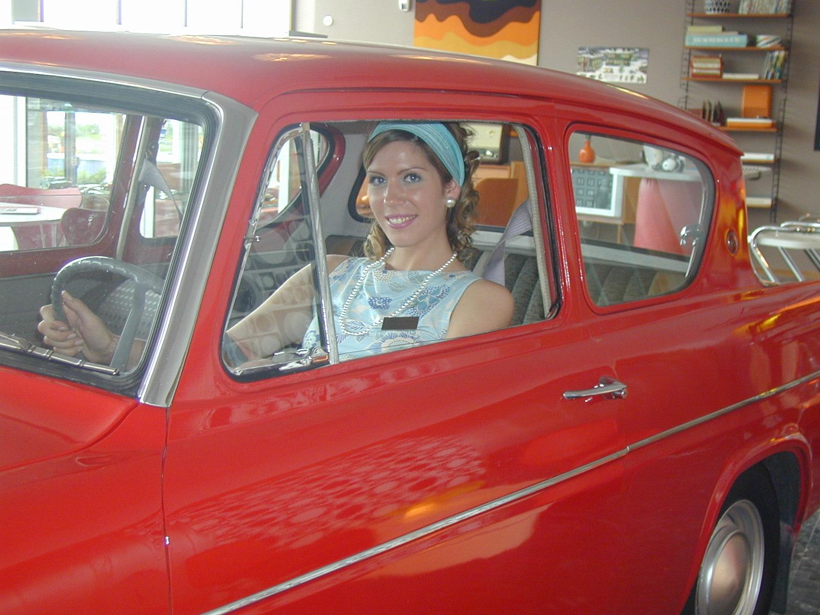 Bil i utställningen