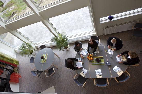 Konferenslokal på Löftadalens folkhögskola