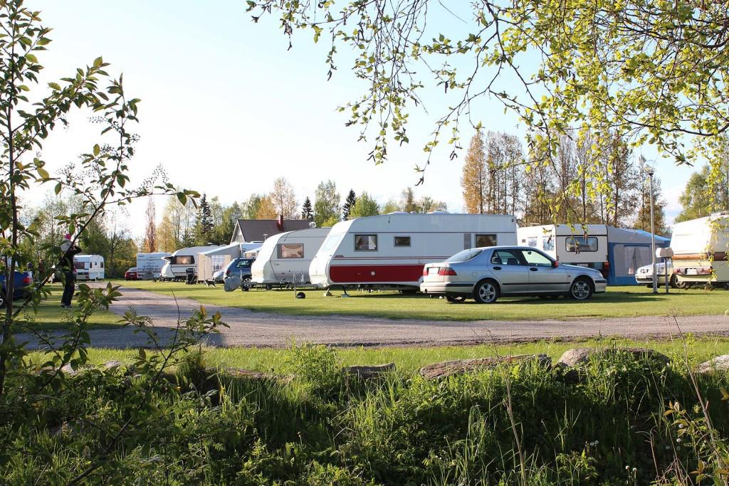 Camping på Storstrand kursgård