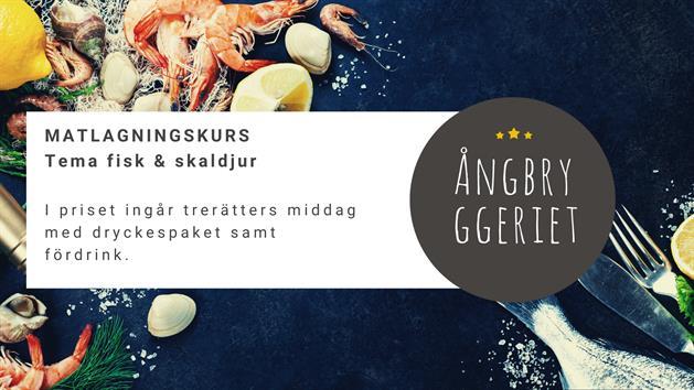 Affisch Matlagningskurs Ångbryggeriet