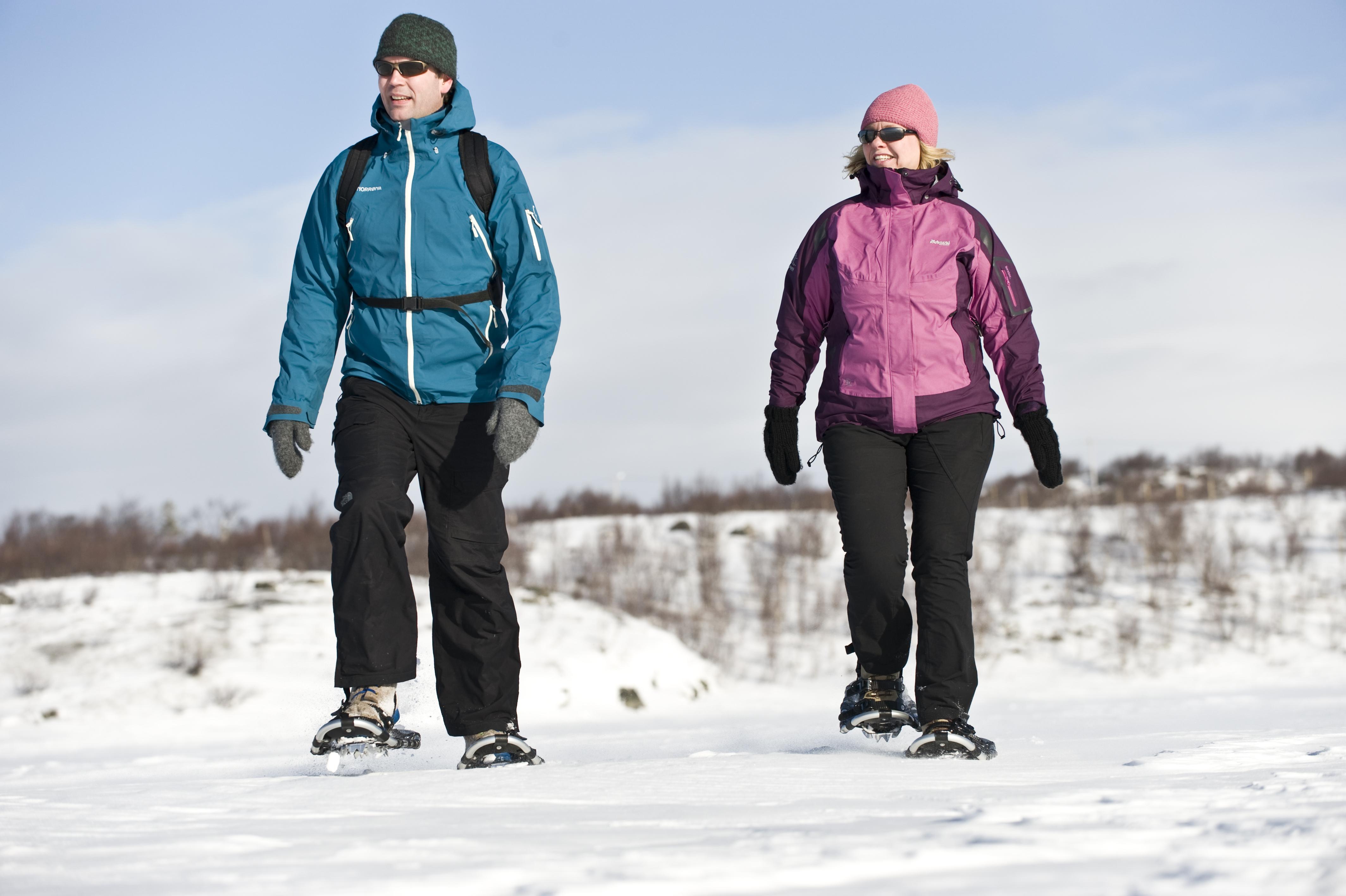 Trugetur er en flott måte å oppleve naturen på, samtidig som det er en svært helseforebyggende aktivitet.  , © Terje Rakke/Nordic life/www.visitnorway.com