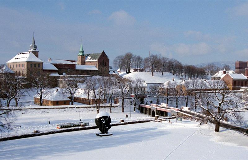 Image result for Akershus Castle and Fortress winter