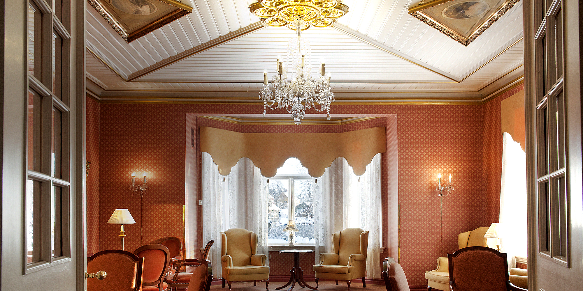 Best Western Tingvold Park Hotell - Det røde rom. Copyright: Best Western Tingvold Park Hotell