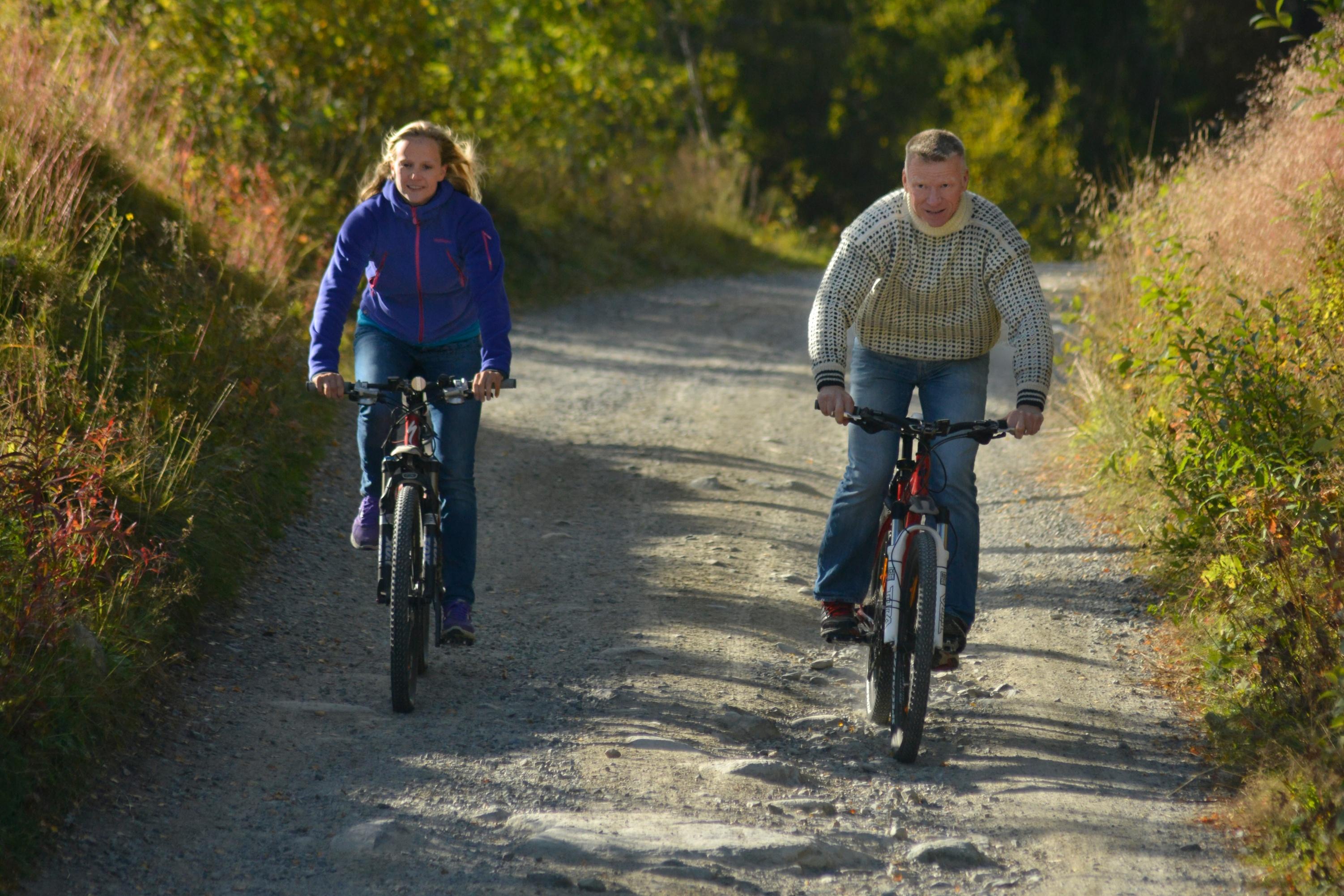Holmevatn rundt er en familievennlig rundtur. , © Nancy Bundt