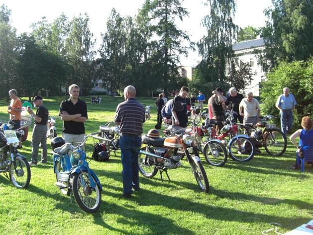 Motorhistorikerna i Badhusparken, Katarina Johansson