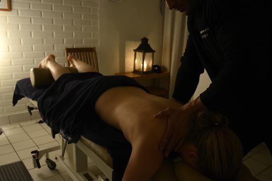 Massage på Folkhälsocentrum i Laholm