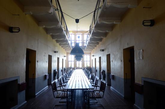 Kronohäktet på Fästningens Vandrarhem - bo & konferera i Varberg erbjuder idag fängslande konferensmöjligheter.