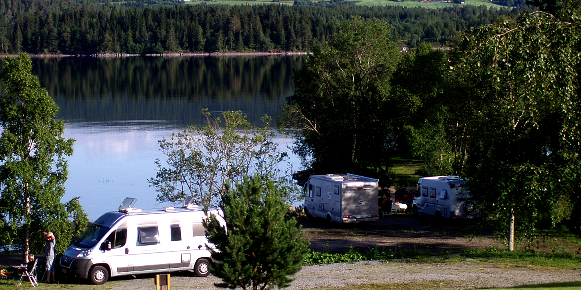 Kvam Motell og Camping - campingvogner. Copyright: Kvam Motell og Camping
