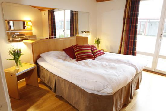 Hotell Falkberget i Falkenberg har 63 rum och totalt 290 bäddar.