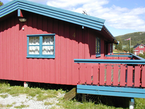 Lonin_hytte. Copyright: Lonin Gård og Camping