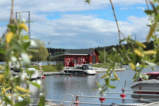 Vy över Marinan i norra hamn , Piteå kommun Ann-Sofie Bohman