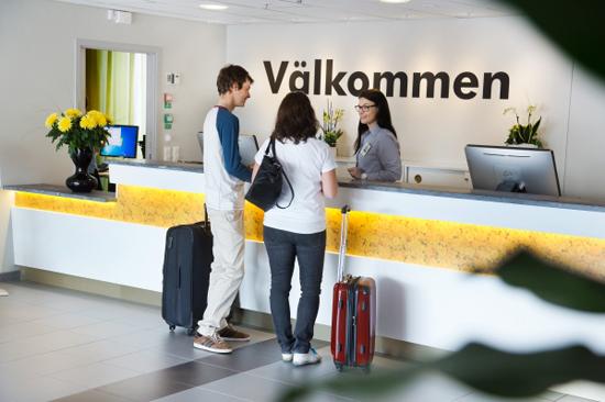 På det nybyggda shoppinghotellet bor du bekvämt och prisvärt 250 m från varuhuset Gekås Ullared