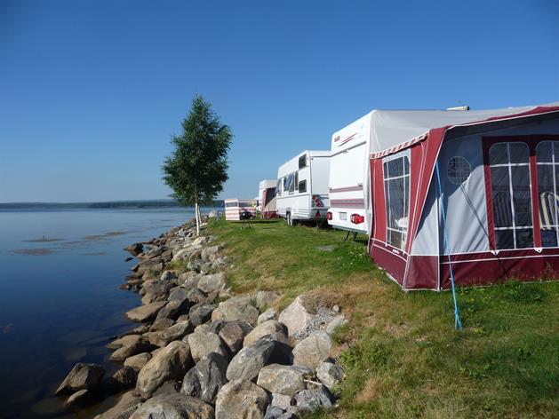 Utsikt över Camping