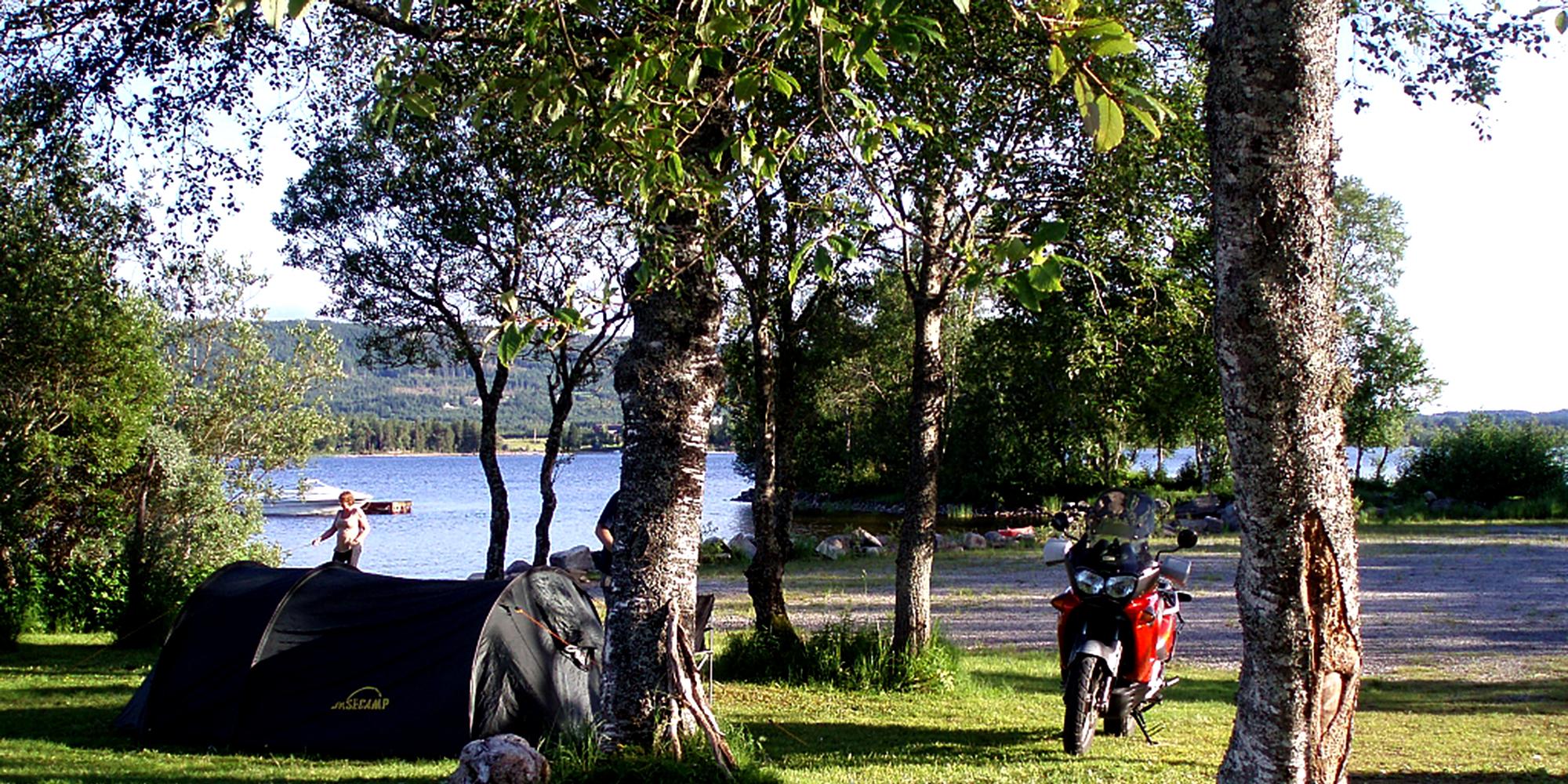 Kvam Motell og Camping - tents. Copyright: Kvam Motell og Camping