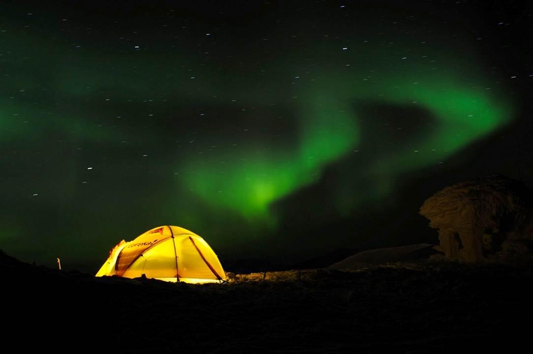 polarnatt telt