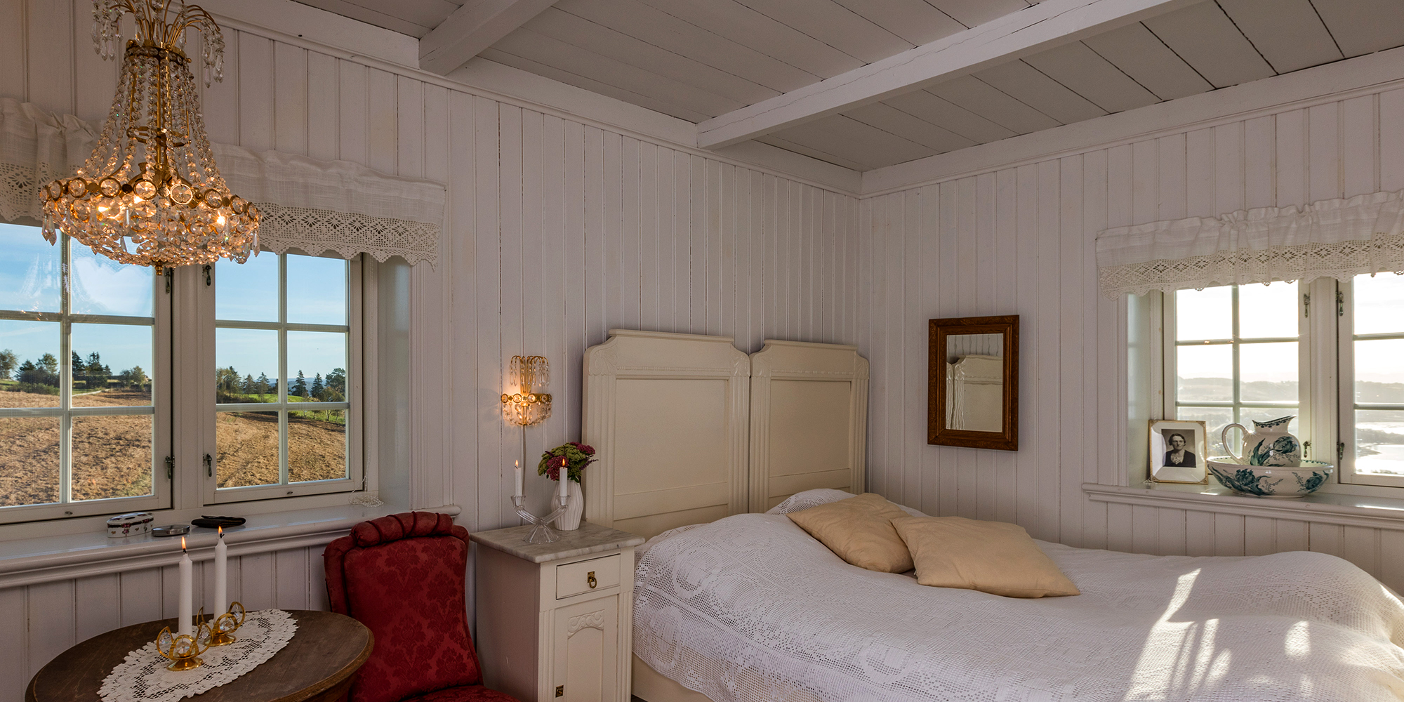 Husfrua country farm hotel - one of the rooms. Copyright: Husfrua Gårdshotell