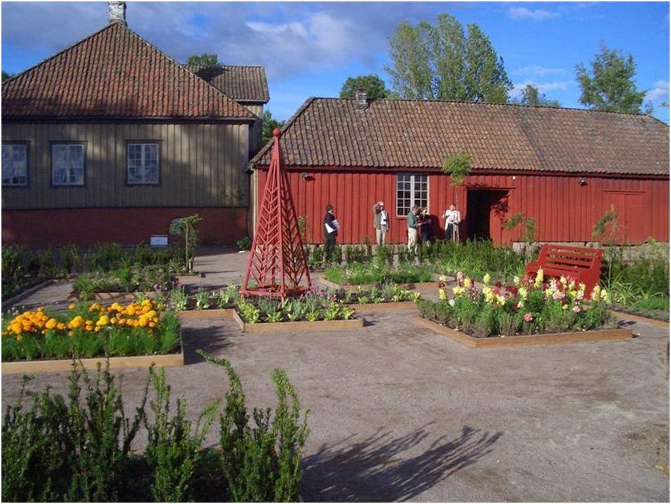 Historisk hage i Porsgrunn, © Porsgrunn Bymuseum