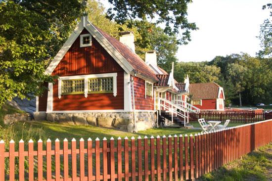 Du kan bo i Allemogebyn på Tjolöholm slott