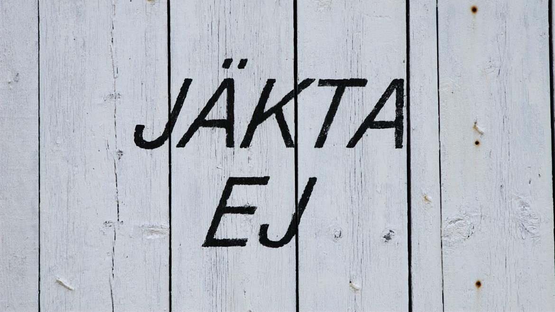 Skylt Pite-Rönnskär