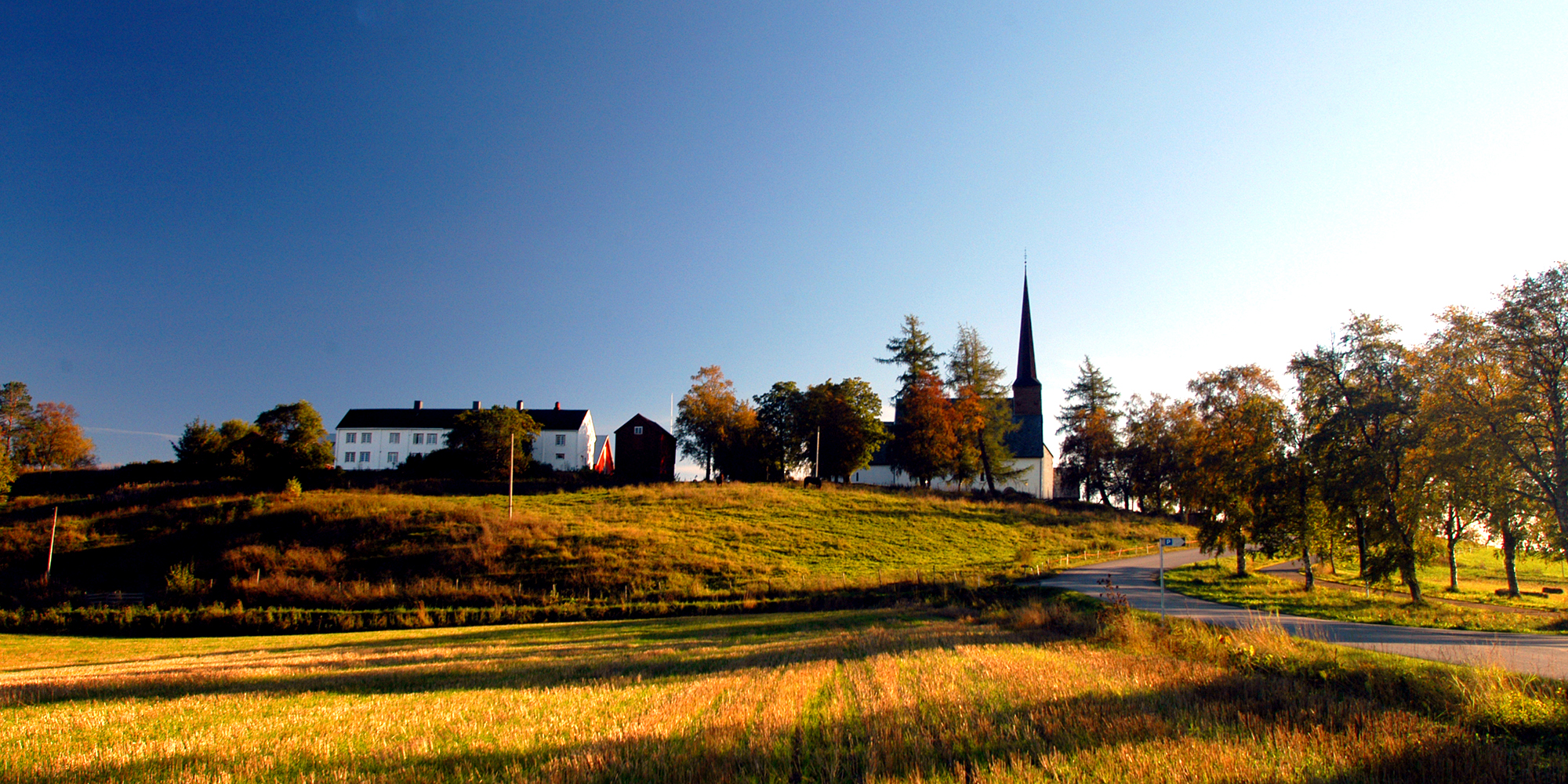 Mære church in Steinkjer. Copyright: Visit Innherred
