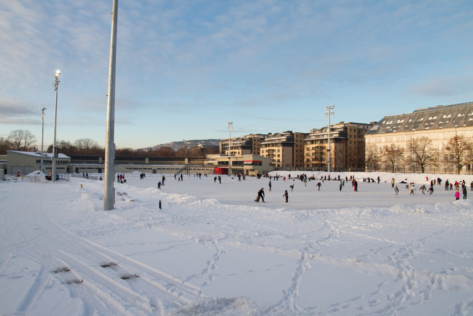 Frogner Ice Skating Rink