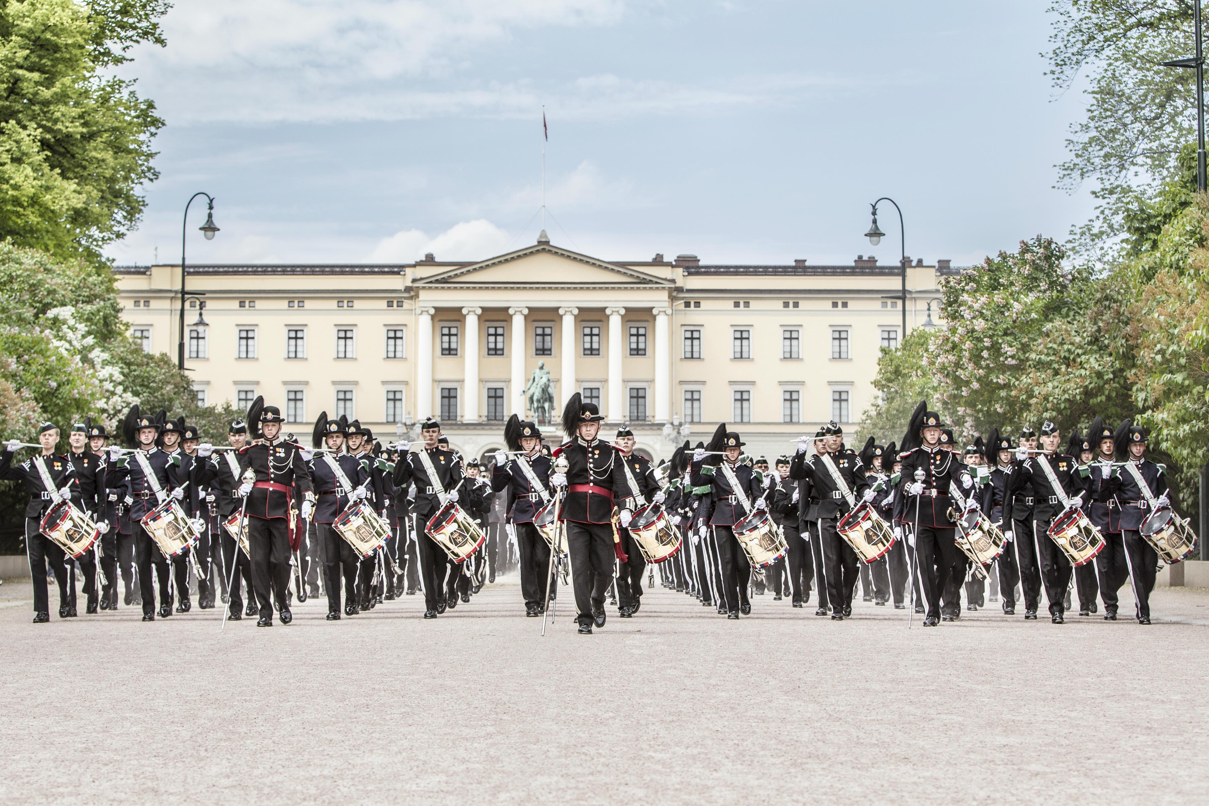 Oppvisning med HM Kongens Garde - TelemarksVeka