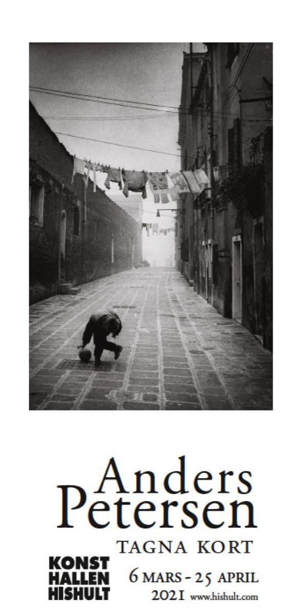 Vernissagekort Anders Petersen Tagna kort