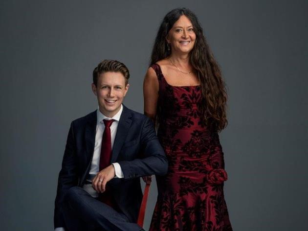 Anna-Larsson och Andreas Landegren