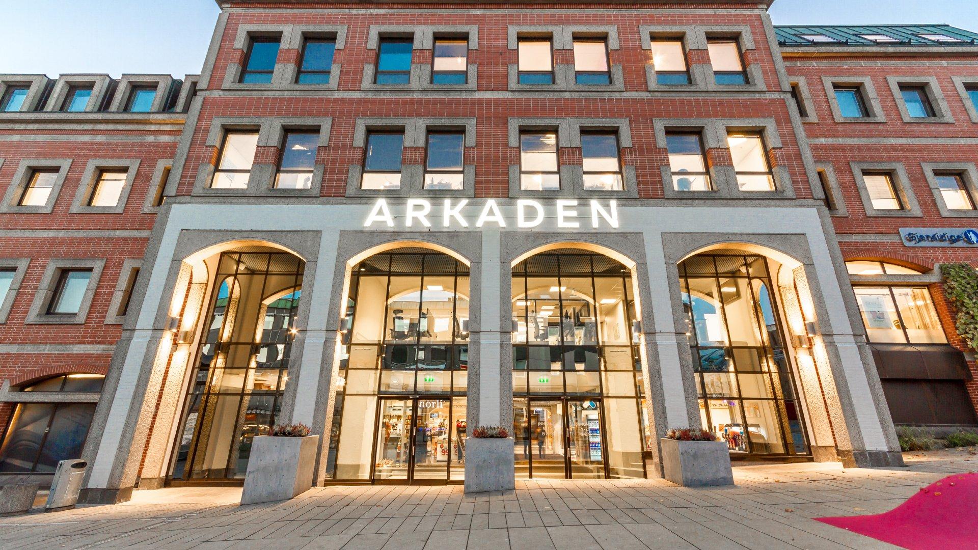 Kjøpesenter, © Arkaden Skien