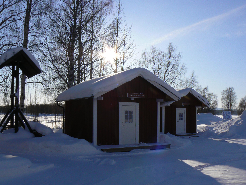 Fyrbäddsstuga vinter Storstrand kursgård, Storstrands kursgård